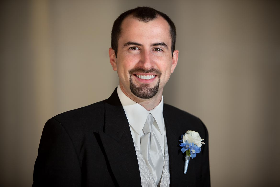 A Portrait of a Groom