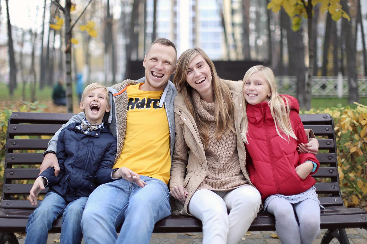 Family Portrait Photography Session South Bend Notre Dame Indiana