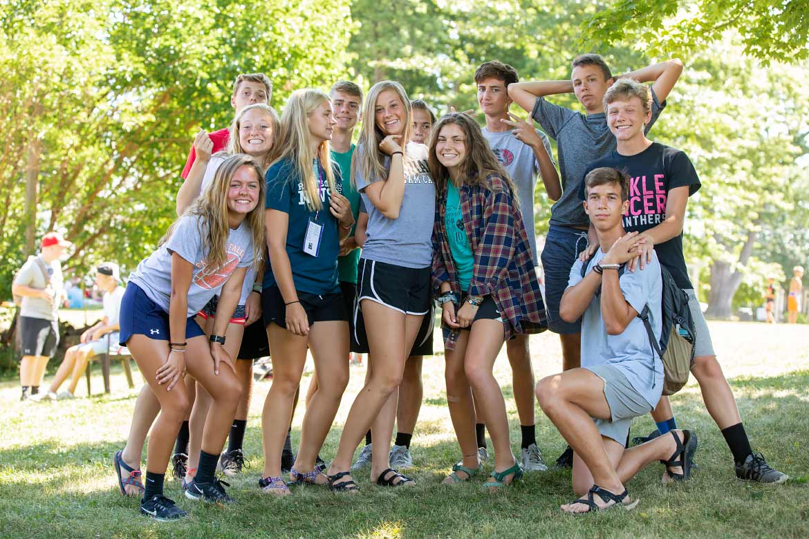Youth Camp Photography